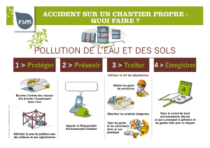 pollutions des sols